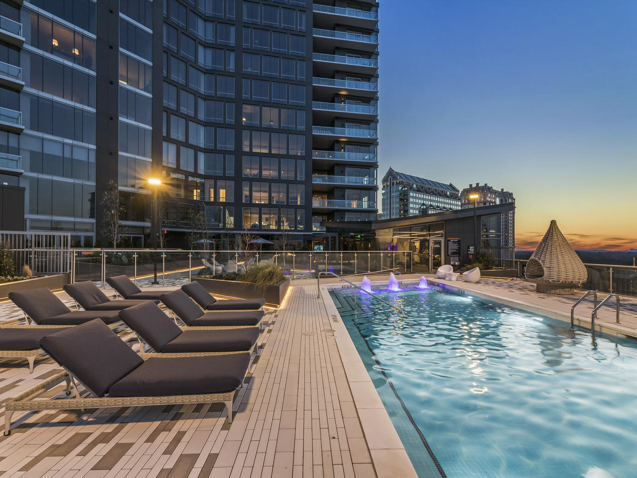 The Charles Condos in Buckhead Village, Atlanta